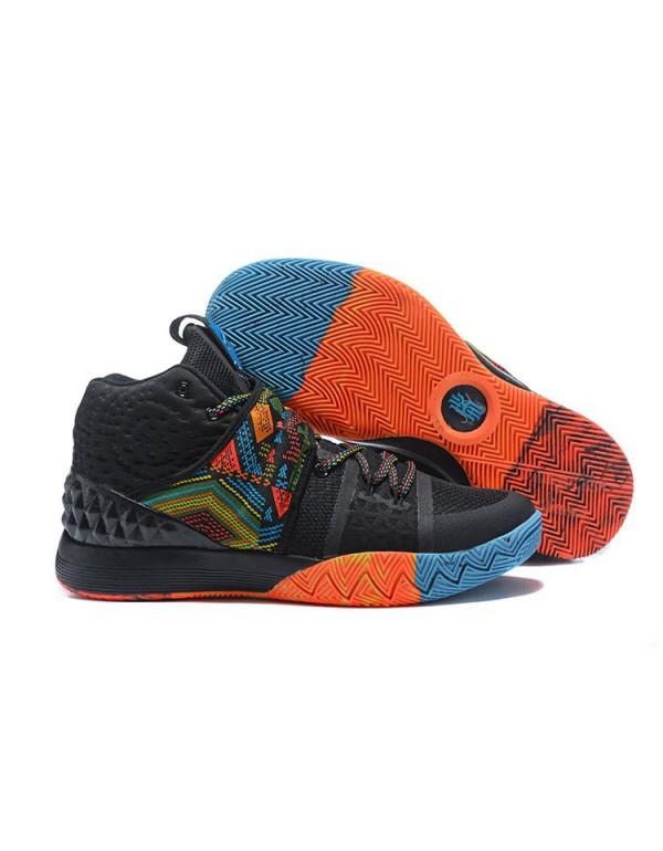 Men's Nike Kyrie S1 Hybrid BHM Black/Multi-Color F...