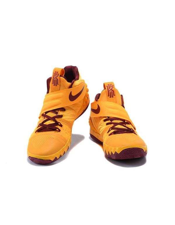 Nike Kyrie S1 Hybrid Cavs Yellow/Wine Red Basketba...