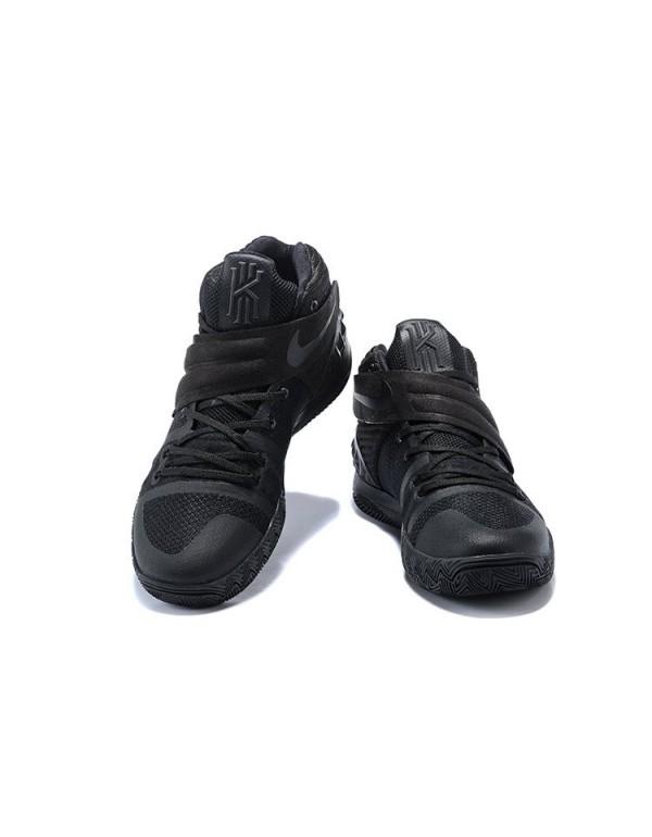 Nike Kyrie S1 Hybrid Triple Black Black/Black AJ51...
