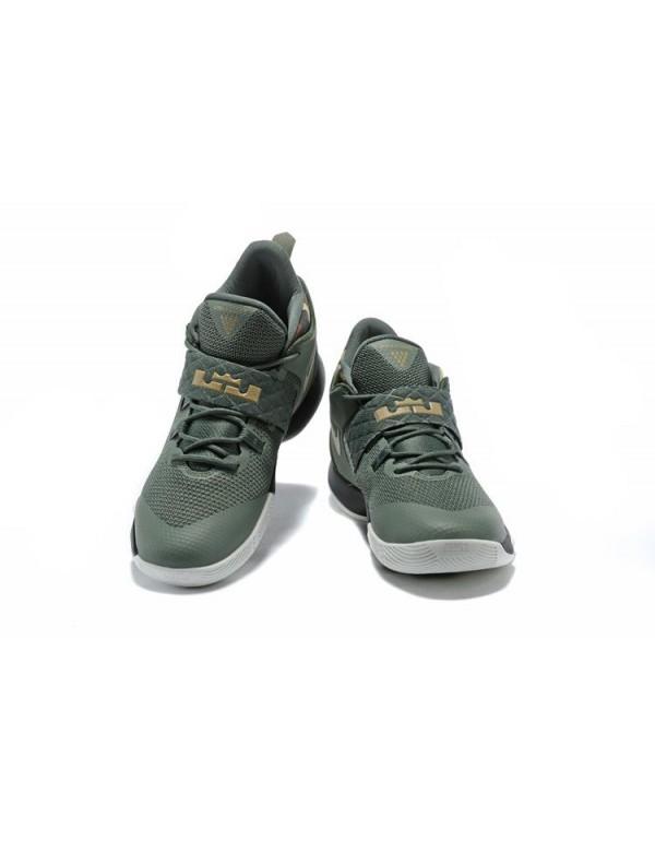 Nike LeBron Ambassador 10 Cargo Khaki Neutral Oliv...