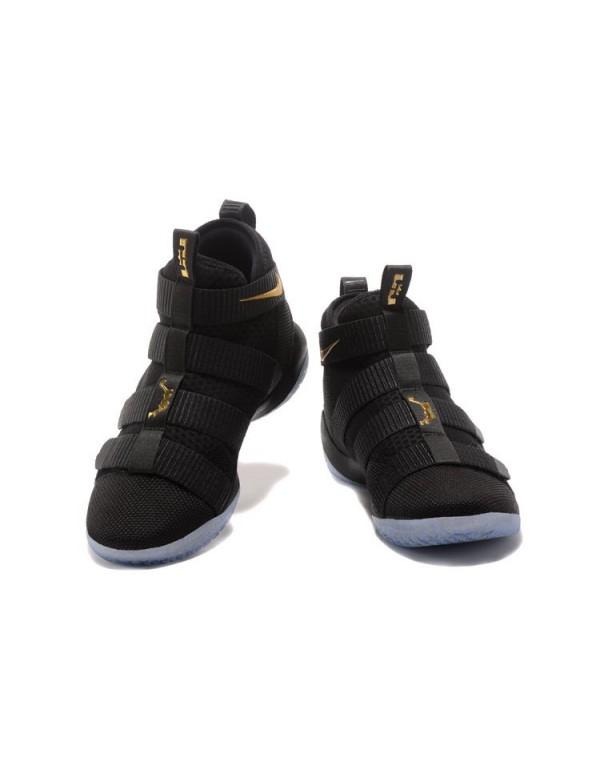 Nike LeBron Soldier 11 SFG EP Finals Black/Metalli...