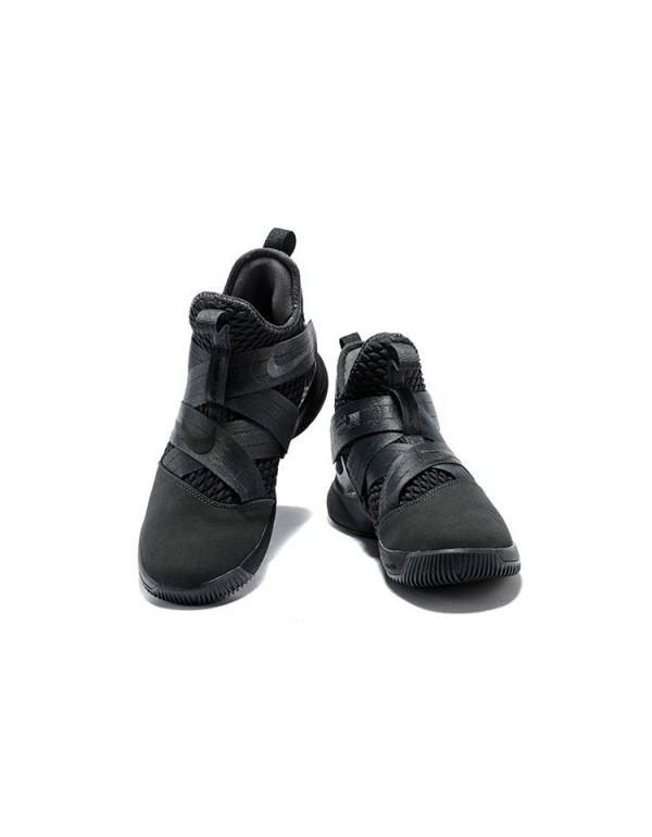 Men's Nike LeBron Soldier 12 SFG Zero Dark Thirty ...