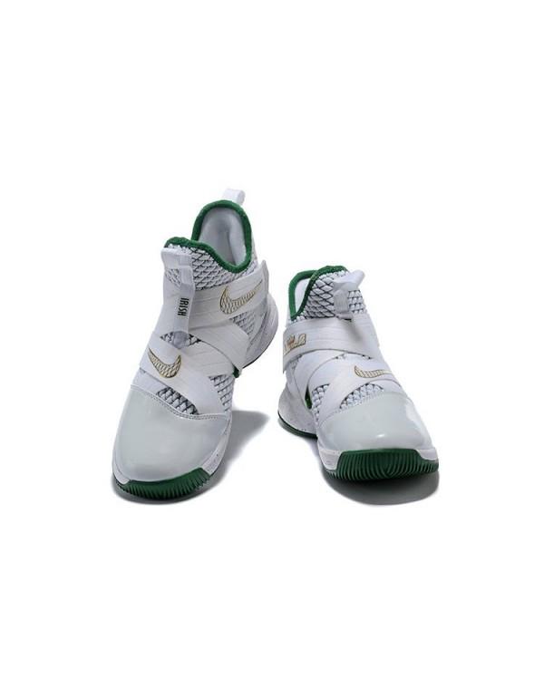 Men's Nike LeBron Soldier 12 SVSM Home White/Multi...