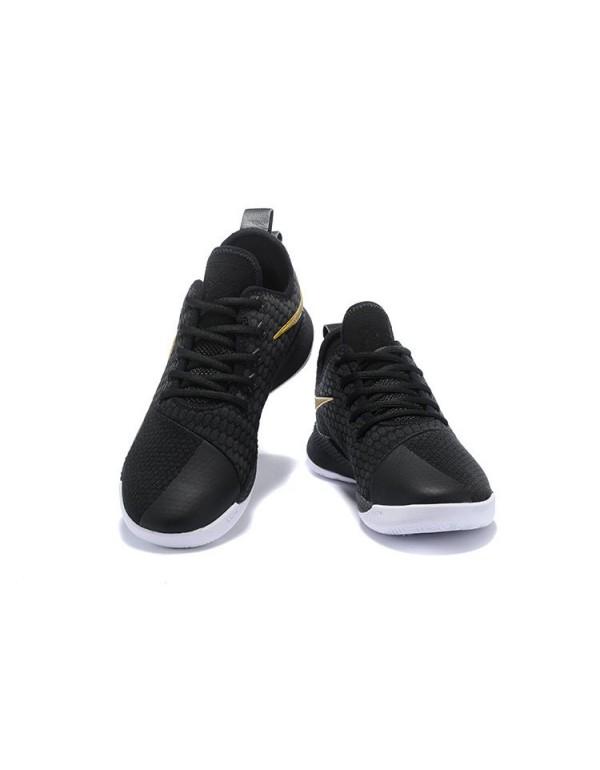 Nike LeBron Witness 3 Black/Metallic Gold For Sale