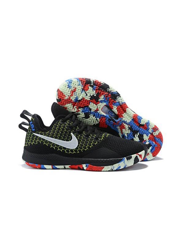 Nike LeBron Witness 3 Black/Multi-Color For Sale