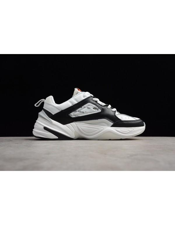 2018 Off-White x NIKE M2K Tekno Black/White-Grey M...
