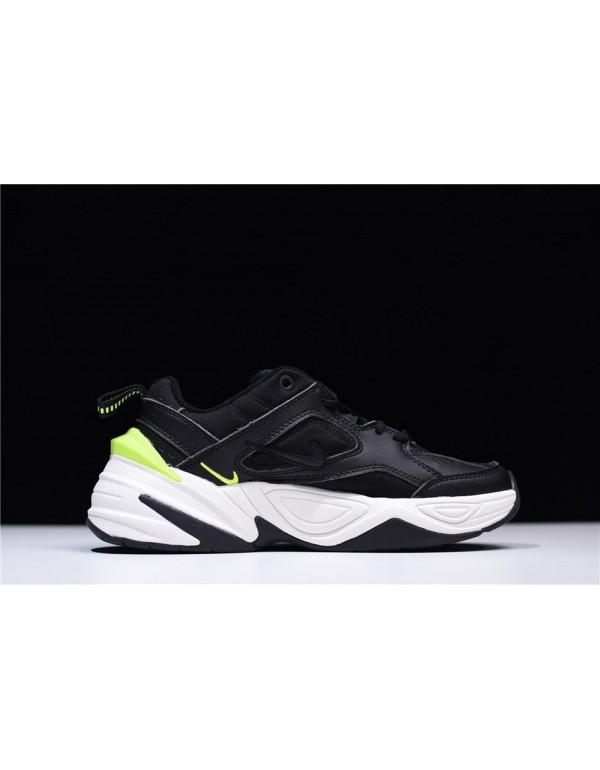 Men's and Women's Nike M2K Tekno Black/Black-Phant...