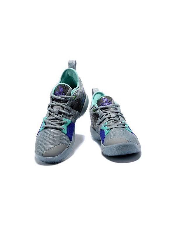 Men's Nike PG 2 Pure Platinum Basketball Shoes AJ2...