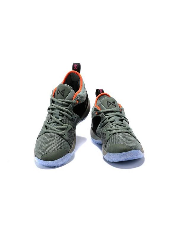 Nike PG 2 All-Star Clay Green/Black Men's Size AO1...