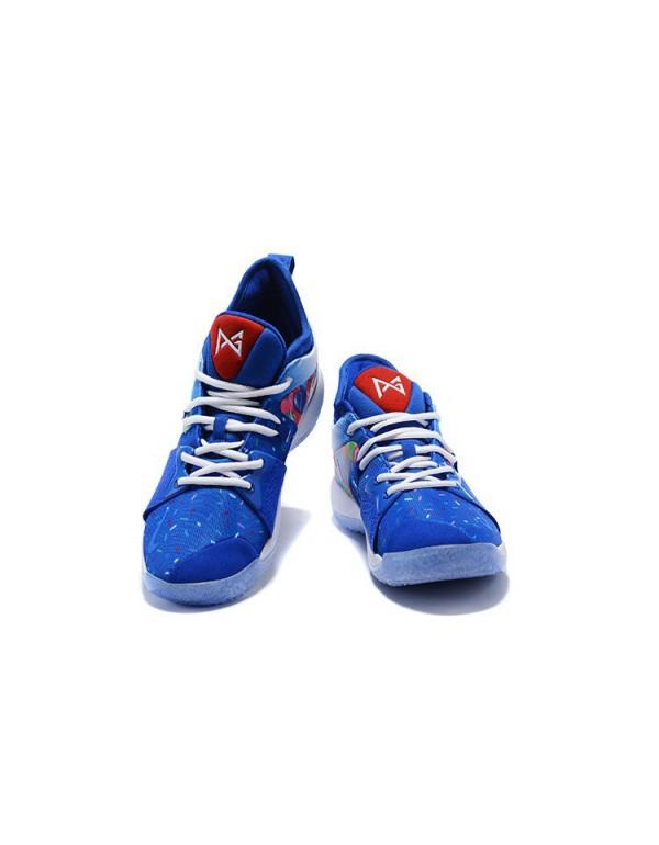 2018 Paul George Nike PG 2 Celebrate Birthday Blue...