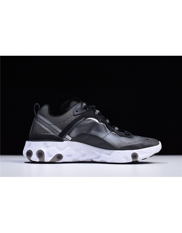 Cheap Nike React Element 87 Anthracite/Black-White...
