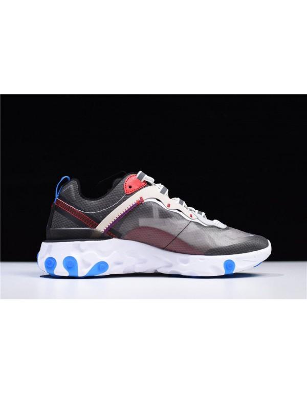Nike React Element 87 Dark Grey/Pure Platinum-Phot...