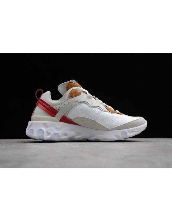 Nike React Element 87 Sail/Light Bone-White AQ1090...