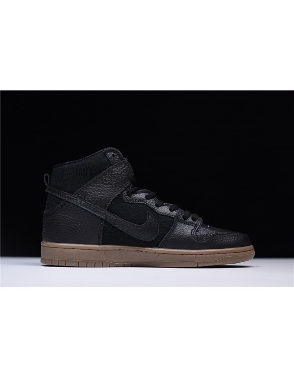 AntiHero x Nike SB Dunk High Pro Black/Anthracite-...