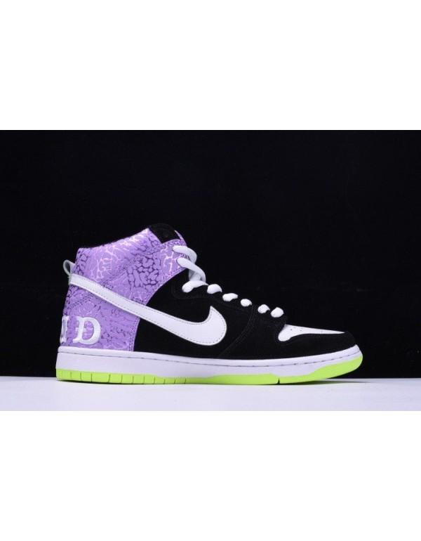 Nike Dunk High Prm SB Send Help 2 Black/Mortar-Dar...