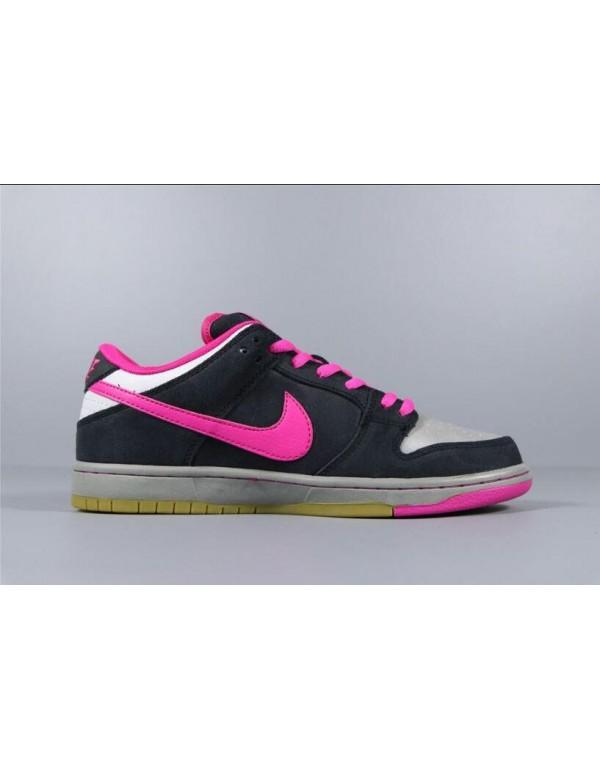 Nike SB Dunk Low Premium QS Disposable Black/Pink ...