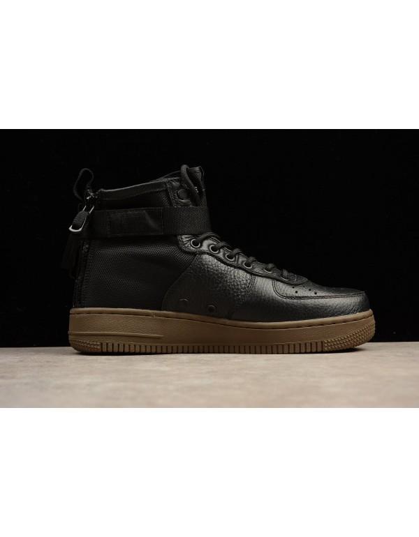 Latest Nike SF-AF1 Mid Hazel Black/Black-Hazel 917...