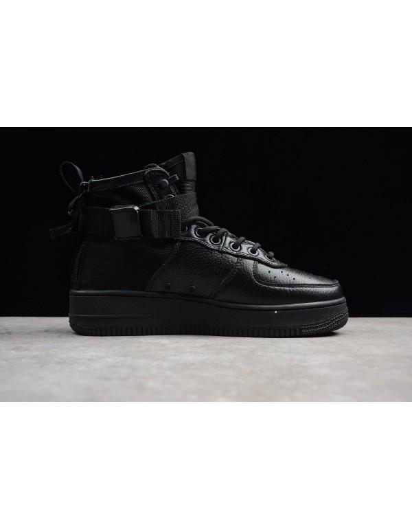 Men's Nike SF-AF1 Mid Triple Black 917753-005