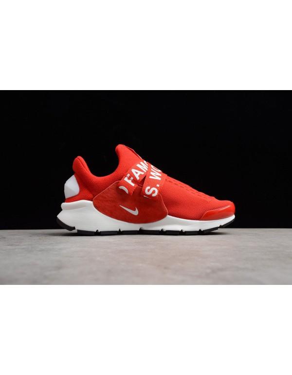 New Nike Sock Dart x Supreme White Red Men's and W...