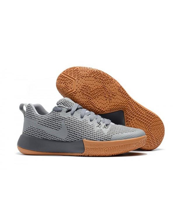 Nike Zoom Live II EP Cool Grey/Gum Men's Basketbal...