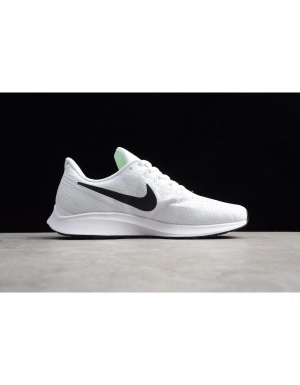 Men's and Women's Nike Air Zoom Pegasus 35 White/B...