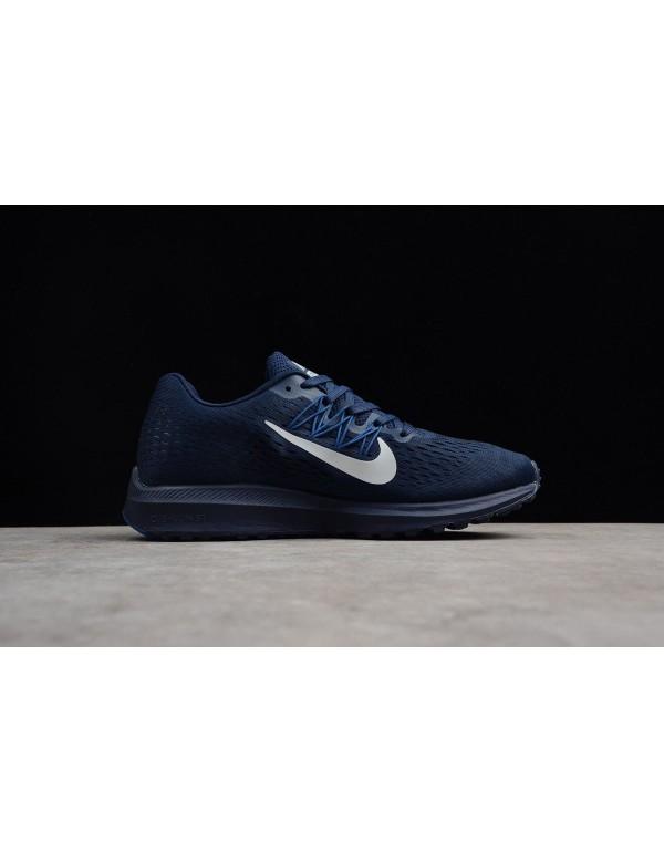 Men's Nike Air Zoom Winflo 5 Midnight Navy/Silver ...