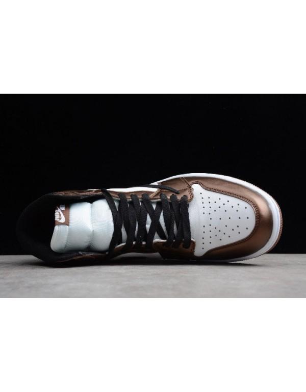 2019 Travis Scott x Air Jordan 1 High OG Bronze/Black-White