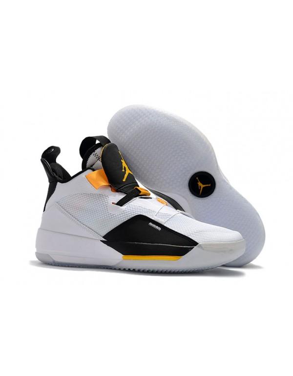 "Air Jordan 33 ""Oladipo PE"" White/Black-Y..."