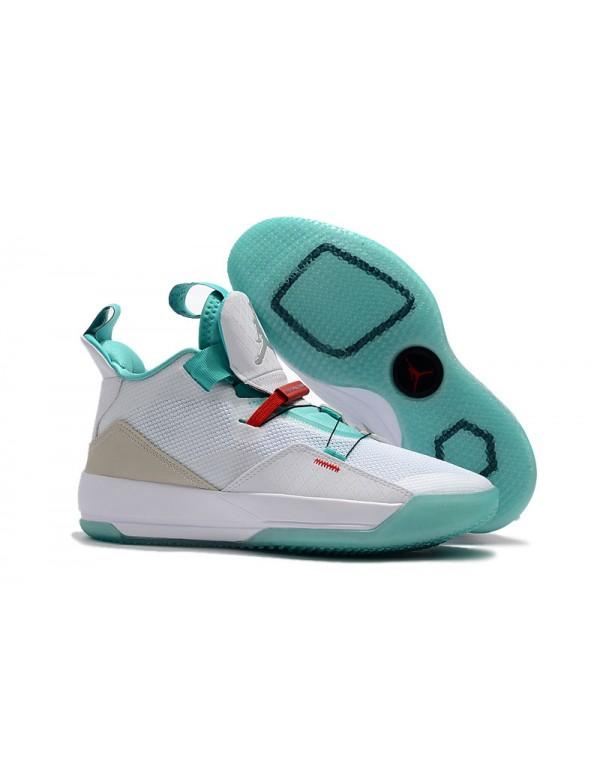 "Air Jordan 33 ""Guo Ailun"" PE White/Jade-..."