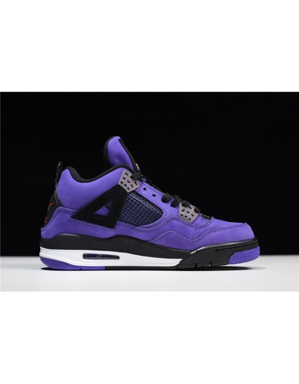 """2018 Travis Scott x Air Jordan 4 """"Purple""""..."""