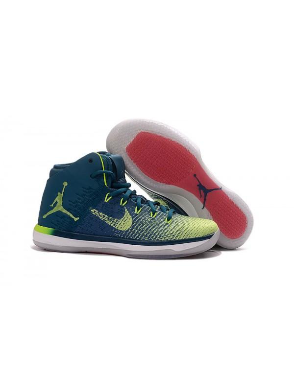 """Air Jordan XXX1 """"Rio"""" Green Abyss/Ghost ..."""