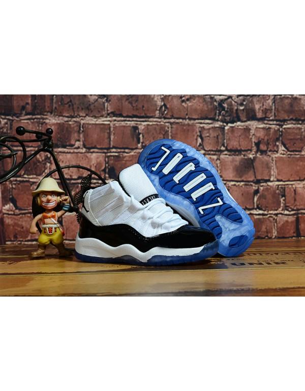 """Kid's Air Jordan 11 """"Concord"""" White/Blac..."""