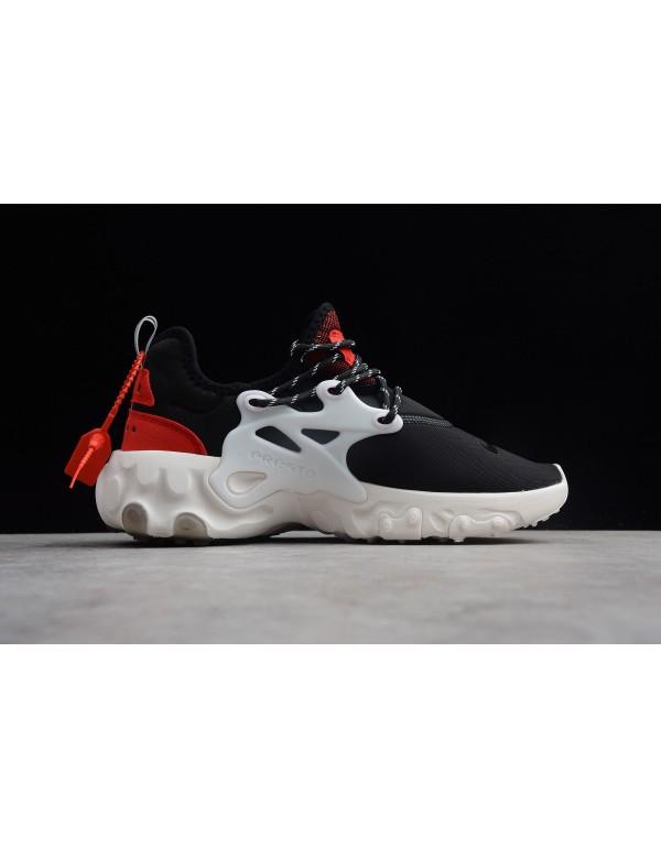 Nike Presto React Black Red White AV2605-002