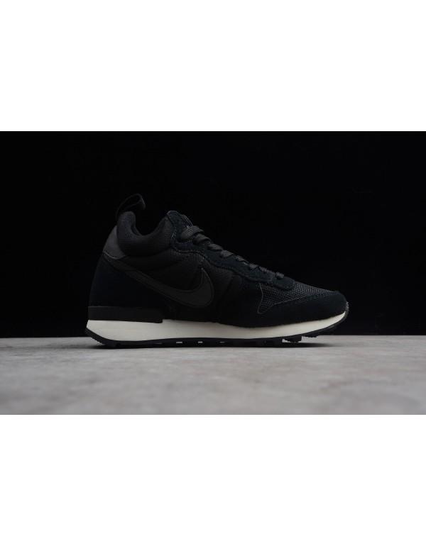 WMNS Nike Internationalist Mid Black/White 683967-...