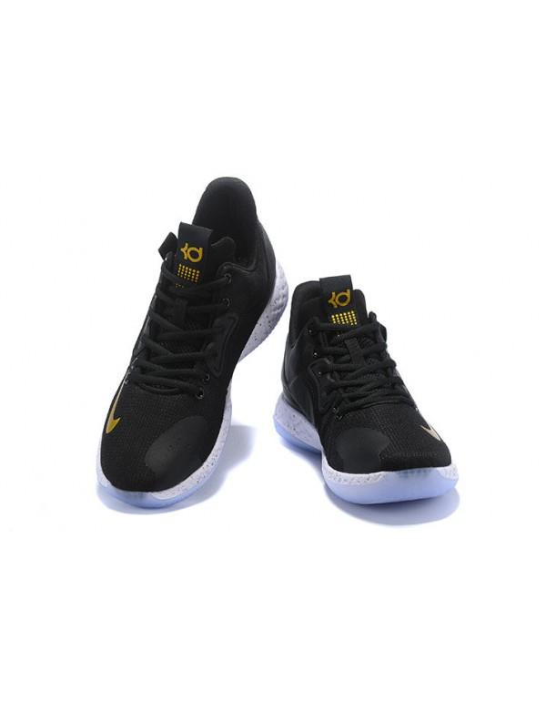 Nike KD Tery 6 Black/Metallic Gold-White