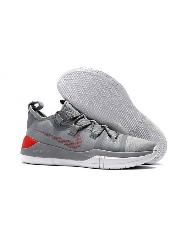 Kobe Bryant Nike Kobe AD Grey/Red-White