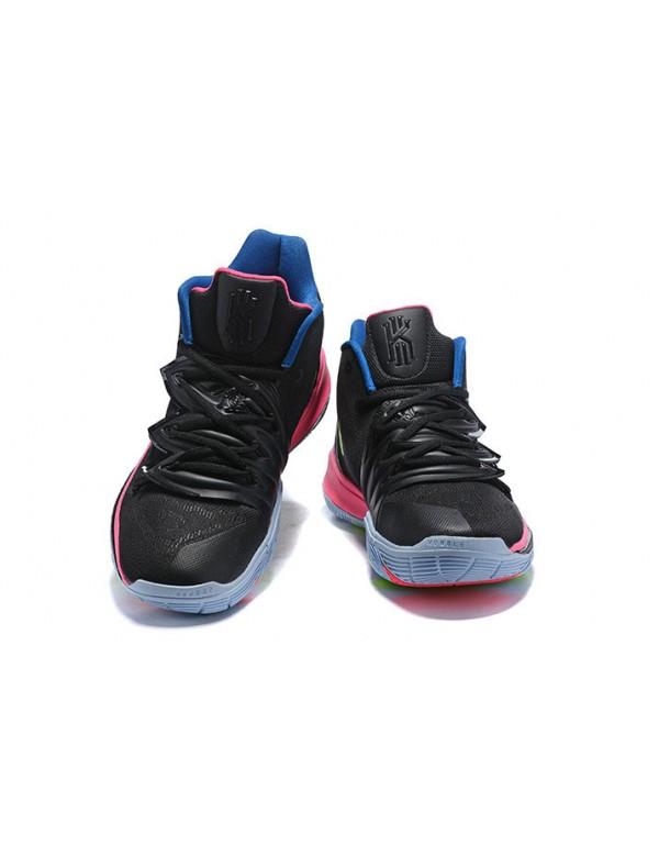 "Nike Kyrie 5 ""Just Do It"" Black/Pink-Blu..."