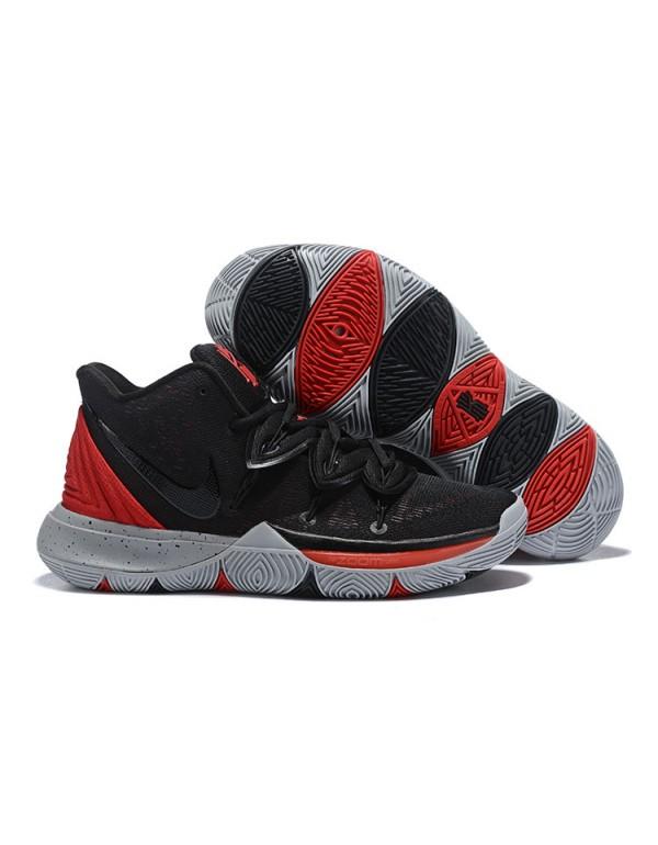 Nike Kyrie 5 Black/University Red-Grey