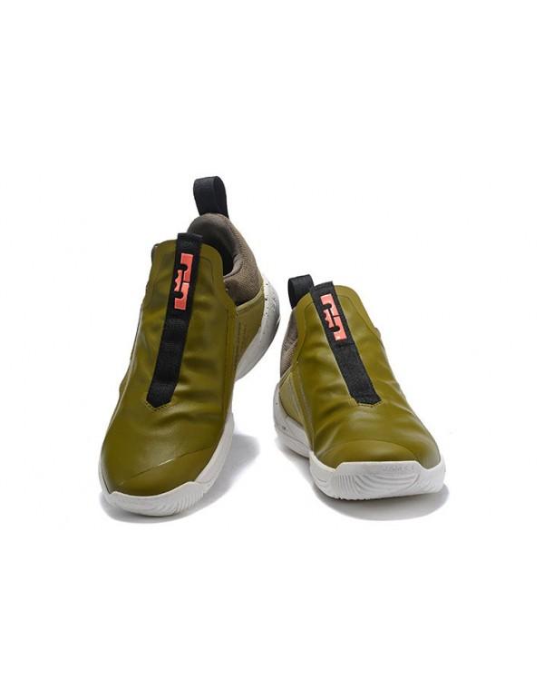 Nike LeBron Ambassador 11 Olive/White-Grey