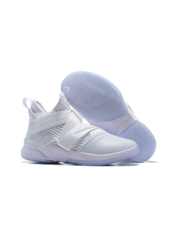 "Nike LeBron Soldier 12 ""Triple White"""