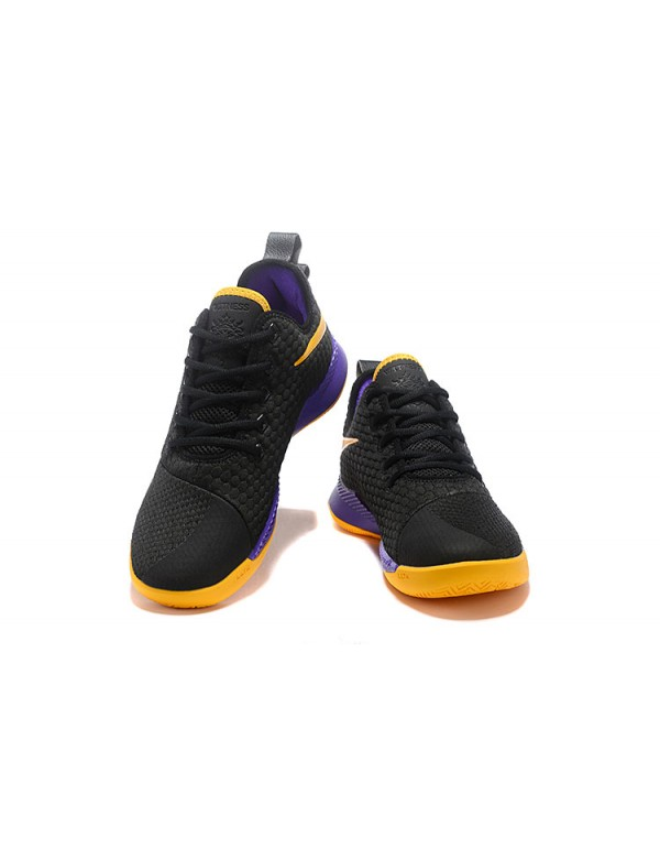 Nike LeBron Witness 3 Black/Yellow-Purple
