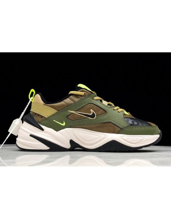 Nike M2K Tekno Medium Olive/Black-Yukon Brown AO31...