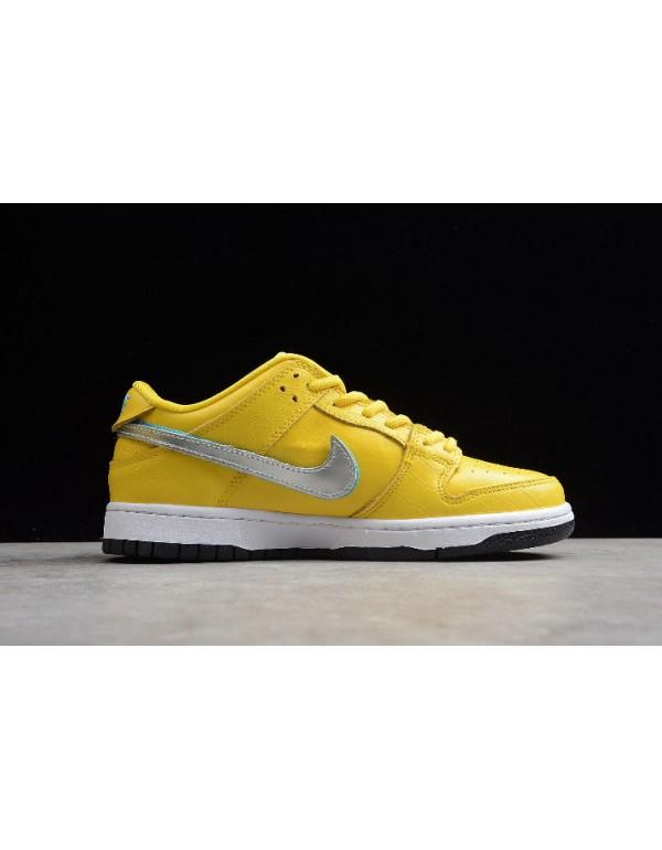 Diamond Supply Co x Nike SB Dunk Low Pro OG QS Yel...