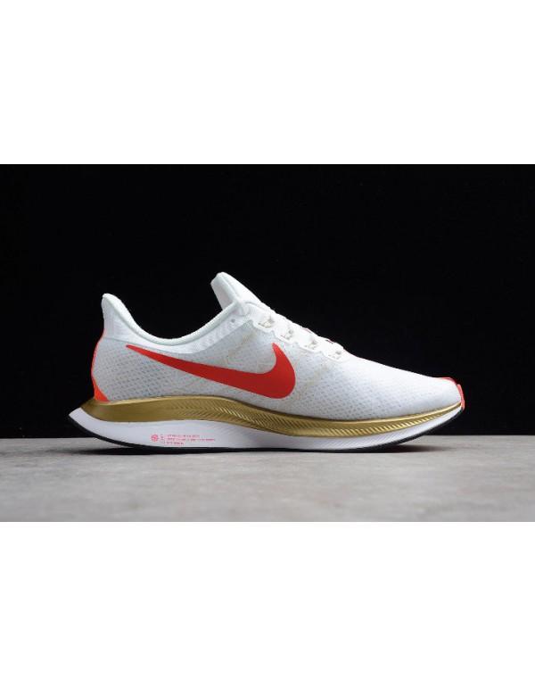 Nike Air Zoom Pegasus 35 Turbo 2.0 White/Red-Gold ...